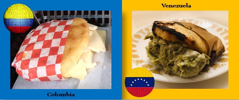 The Arepa War Colombia Versus Venezuela An Americana In Espana